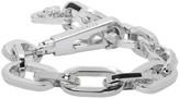 Versace Silver Chain Bracelet