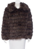 MICHAEL Michael Kors Faux Fur Short Coat