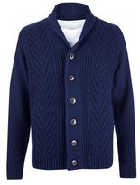 Burton Burton Blue Shawl Neck Cardigan