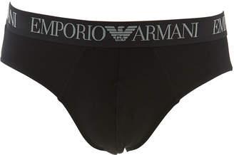 Emporio Armani Men's 2-Pack Endurance Jersey Briefs