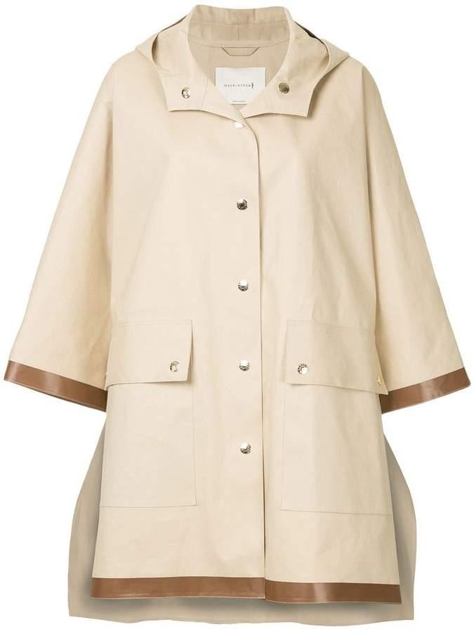 MACKINTOSH poncho coat