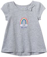 Baby Girl Jumping Beans® Graphic High-Low Hem Tee