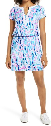 Lilly Pulitzer Reble Reel Nauti Skort Romper