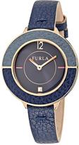 Furla Women's Club Sunray Blue Dial Watch, 34mm