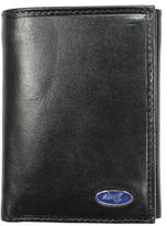 Unico Corp. Yacht Men's Black Leather Tri-fold Wallet