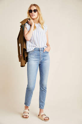 Citizens of Humanity Olivia Ultra High-Rise Slim Ankle Jeans