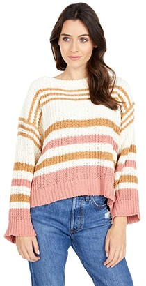 Rip Curl Road Side Sweater (Bone) Women's Clothing