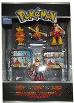 Tomy Pokemon X & Y Torchic, Combusken, Blaziken & Mega Blaziken Mini Figure 4-Pack
