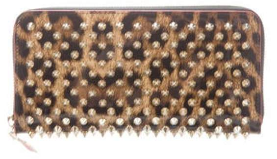 3a012da6651 Panettone Spiked Continental Wallet Brown Panettone Spiked Continental  Wallet