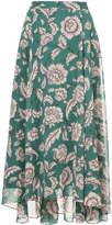 CITYSHOP floral print maxi skirt