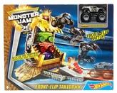 Mattel Inc. Hot Wheels Monster Jam Front-Flip Takedown Stunt Set