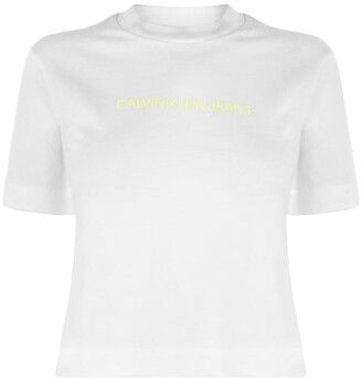 Calvin Klein Jeans Shrunk Institutional T Shirt