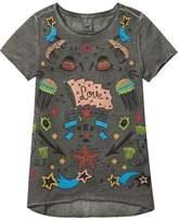 Scotch & Soda A-Line Printed Artwork T-Shirt