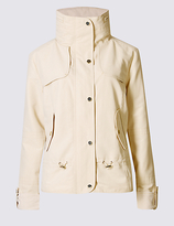 M&S Collection Shortie Anorak Jacket with StormwearTM