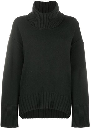 Dorothee Schumacher Detachable Roll Neck Jumper