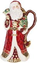 Fitz & Floyd Renaissance Santa Pitcher