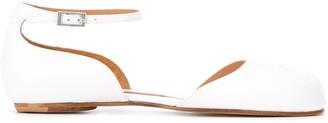 Maison Margiela ankle strap Tabi ballerina shoes