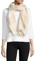 Lord & Taylor Dual Tone Fraas Linen Blend Scarf