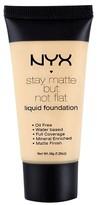 NYX Stay Matte Not Flat Foundation Nude 1.18Fl Oz