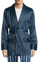La Perla Striped Short Robe
