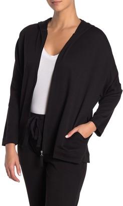 N Natori Zip Up Hooded Jacket