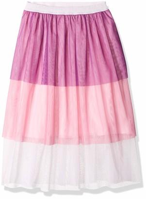 Spotted Zebra Midi Tutu Skirt Pink Multi Small (6-7)