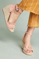 Splendid Bedford Ruffle Wedge Sandals