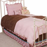 Pam Grace Creations Chocolate Delight 3 Piece Twin Bedding Set
