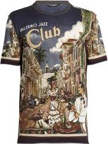 Dolce & Gabbana Palermo Jazz-print cotton T-shirt