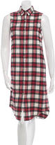 Jenni Kayne Plaid Button-Up Dress w/ Tags