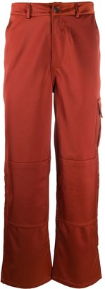 Daily Paper Satin Loose Fit Trousers