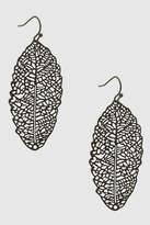 Its Sense Leaf Earrings