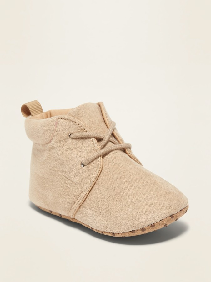 fe18eb53db3 Faux-Suede Desert Boots for Baby