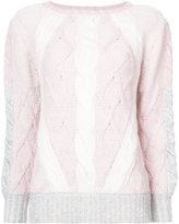 Prabal Gurung cable knit jumper