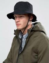 Asos Fisherman Bucket Hat In Black