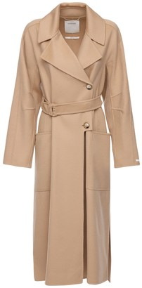 Sportmax Belted Wool & Cashmere Coat