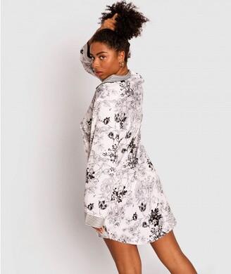 Bras N Things Giovana Print Long Sleeve Shirt - Print Floral