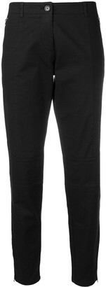 Moschino Pre Owned Cropped Chinos