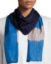 Eileen Fisher Silk Shibori Windows Scarf