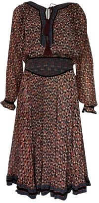 Talitha Collection Multicolour Silk Dress for Women