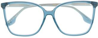 Victoria Beckham square frames glasses