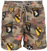 MC2 Saint Barth Gustavia Patch Micro Fiber Swim Shorts