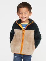 Old Navy Color-Blocked Micro Fleece Full-Zip Jacket for Toddler Boys