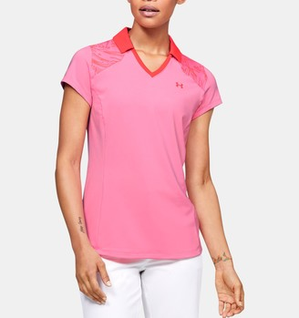 Under Armour Women's UA Zinger Blocked Polo