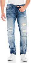 Cult of Individuality Greaser Moto Slim-Straight Jeans