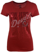 VF Licensed Sports Group Women's New Jersey Devils Hip Check T-Shirt