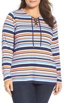 MICHAEL Michael Kors Plus Size Women's Criollo Lace-Up Tunic