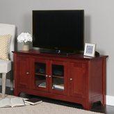 Walker Edison Brown Wood 53-inch TV Stand