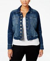 Jag Plus Size Savannah Denim Jacket