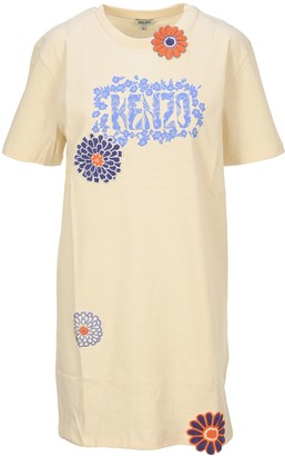 Kenzo Flower T-Shirt Dress